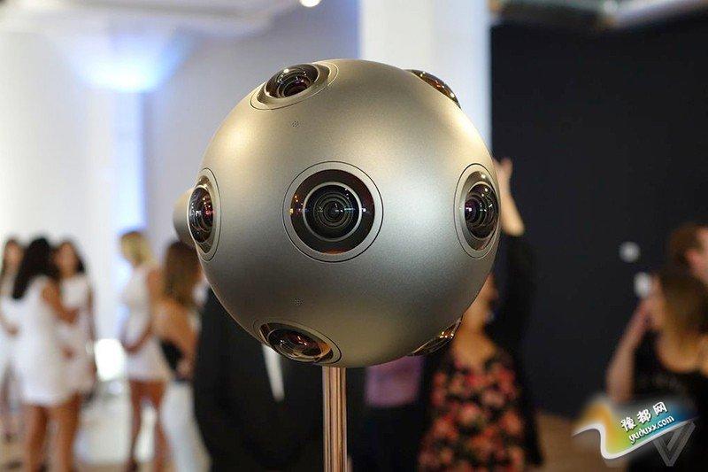 新领域略萌 诺基亚Ozo虚拟现实摄影头