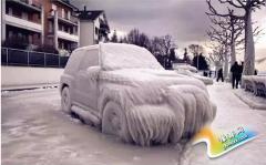 """冬天到了,记得""""温暖""""爱车哦~"""