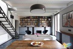 90平米精致米兰Loft公寓设计