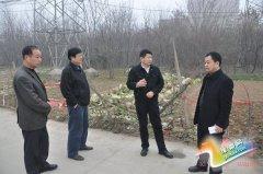 县委书记聂晓光对我县部分道路现状进行调研