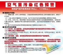 北京启动重污染红色预警 机动车限行