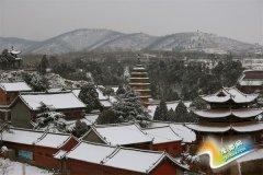 雪落汝州景更美
