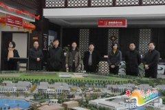 省住建厅城建处处长刘江明一行来我县检查指导工作