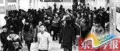 初雪考验 郑州地铁单日客运量达36万