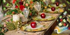 水果婚礼现场布置 甜蜜水果风暴来袭