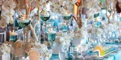 海洋婚礼现场布置 打造一场蓝色风情的浪漫