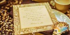 金色婚礼现场布置 最高雅脱俗的浪漫婚礼