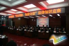 """义马市农信联社举办""""学法用法、知法守法""""法律知识竞赛活动"""