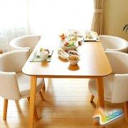 简约清爽自然系8款日式实木餐桌