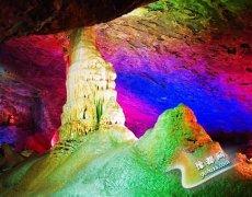 浮戏山雪花洞风景名胜区(AAA) 小桂林 古代八大名景