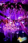 紫色主题婚礼现场布置 最梦幻婚礼炼成记