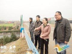新野县: 县领导督导冬春植树造林暨河道整治工作