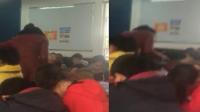 贵阳一教师猛扇小学生并骂其贱 半分钟扇8次