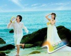 海边拍婚纱照注意事项 新郎新娘必知拍摄技巧