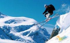桃花峪生态滑雪场(生态健身)