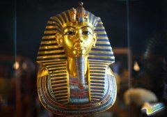法老面具修复完成 恢复原貌眉毛镶嵌天青石揭黄金面具