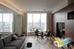 现代简约都市风17图一室一厅小户型
