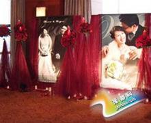 婚礼也混搭 中西合璧婚礼现场布置欣赏