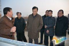 乔长青到豫灵镇调研万达石材项目建设情况
