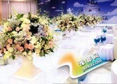 极致婚礼的和谐色调 婚礼现场布置配色要点