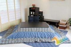 客厅也能变卧室 动手打造日式被炉