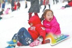 河南多地小学、幼儿园因大雪放假 作业:玩雪!