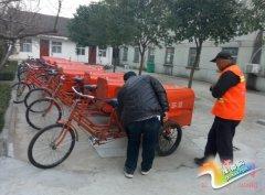 权寨镇采购环卫车加强人居环境建设