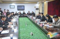 县委书记、县长张怀德深入县公 、检、法、司机关和基层单位调研