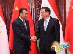 李克强会见塔吉克斯坦总理