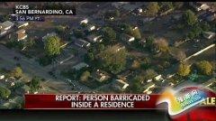 美加州枪案一疑似嫌犯据守在现场附近民宅(图)