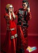 唯美中式经典婚纱照图片 穿越时空爱上你