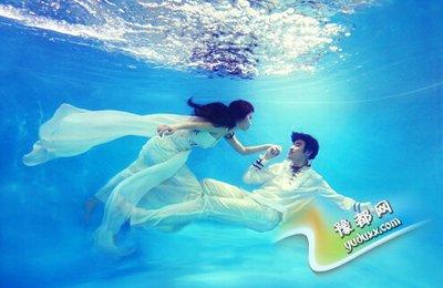 水下婚纱照怎么拍 盘点水下婚纱照注意事项