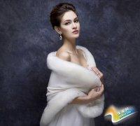 拍冬季婚纱照小道具 让你的照片好看又温暖