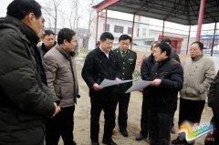 """我县对农村人居环境改善""""四项重点工作""""进行第二次集中观摩"""