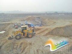 邓州一在建垃圾场工地墙体倒塌 4工人被埋
