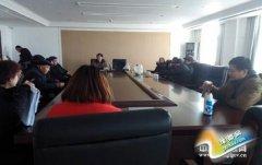 县安监局组织召开退休老干部座谈会(图)