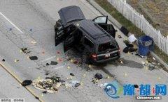 """美国警方以""""恐怖主义行为""""调查加州枪击案"""