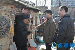 县政府办到辛店镇李寨村看望慰问部分贫困家庭