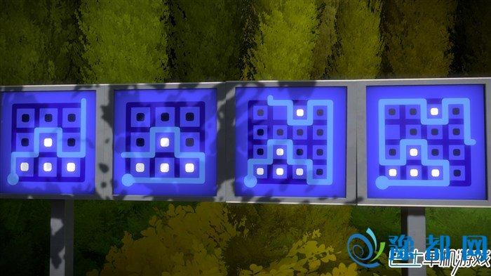见证者树林旁蓝牌子,见证者绿电视