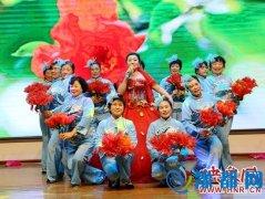 确山县委举行2016机关迎春联欢晚会