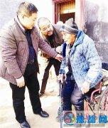 汝南县人大到十里铺社区看望老党员王文学