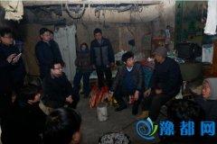 示范区领导慰问辖区困难家庭和抗战老战士