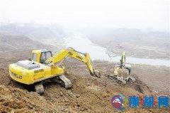练江河二期改造项目正在紧张进行