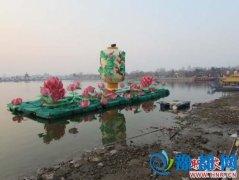 开封龙亭公园春节灯会被指卫生状况差