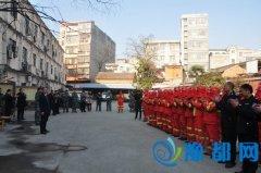 县领导春节看望慰问森林防火扑火队员