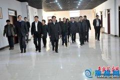 西平县县委书记聂晓光带领的党政考察团来我县参观考察