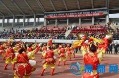卫东区举办二十三届民间艺术表演赛