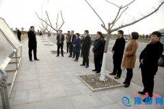 我县赴泌阳县考察学习项目建设和城市建设
