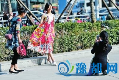 郑州周末将迎大风降温天 气温直降8度(图)