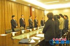 张怀德、赵峰等县领导看望慰问出席县十三届人民代表大会第五次会议的人大代表团